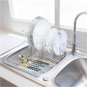 Tuffen Roll-Up Dish Drying Rack