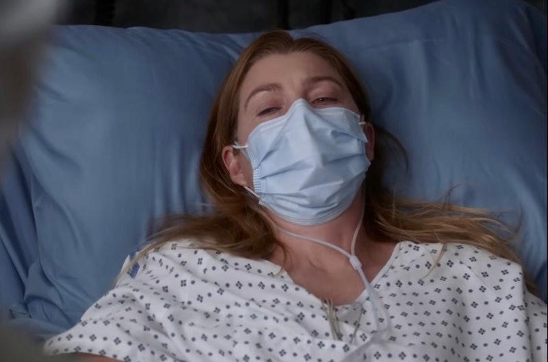 Ellen Pompeo as Meredith Grey in 'Grey's Anatomy' Season 17
