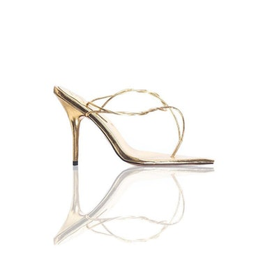 Mid Aurum Knotted Thong Sandals
