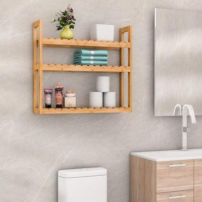 Domax Bamboo Adjustable Shelves