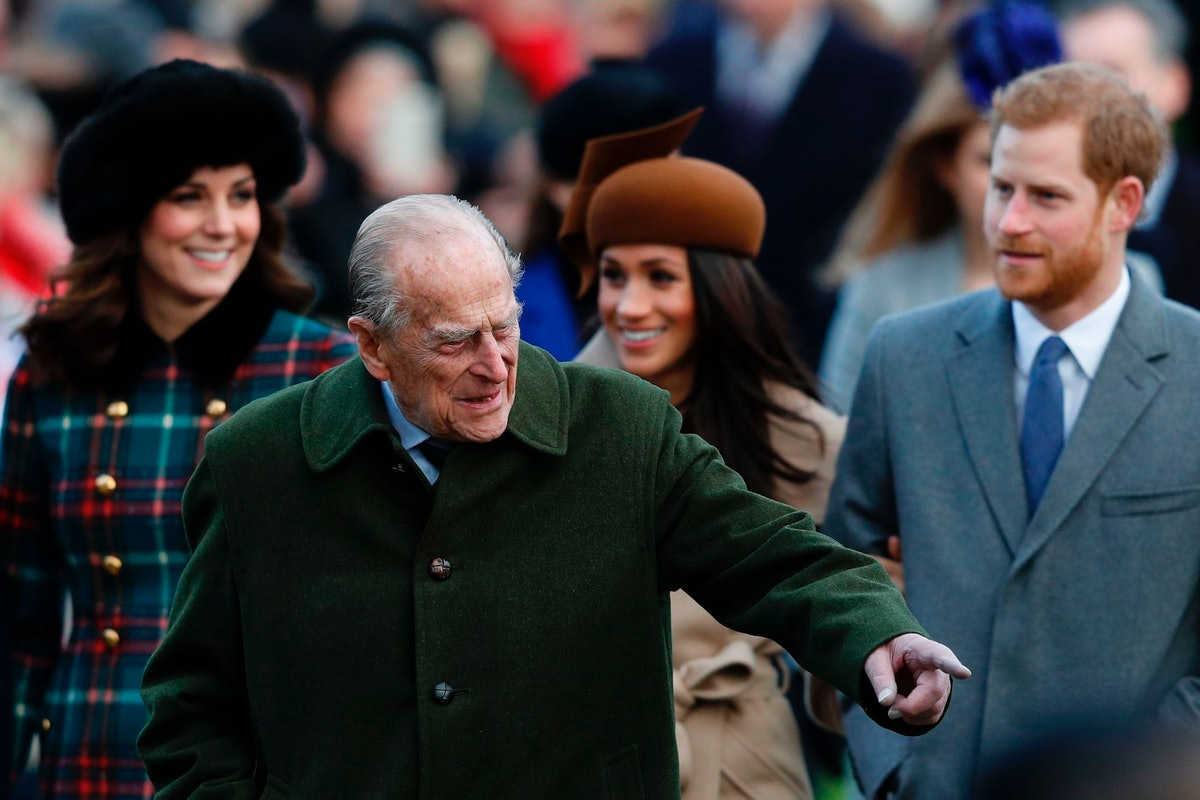 Prince Philip with more royals