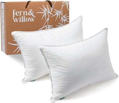 Fern and Willow Luxury Pillows (Set of 2)