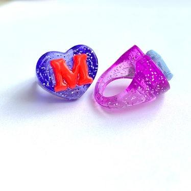 Glitter Lucky Charm Ring