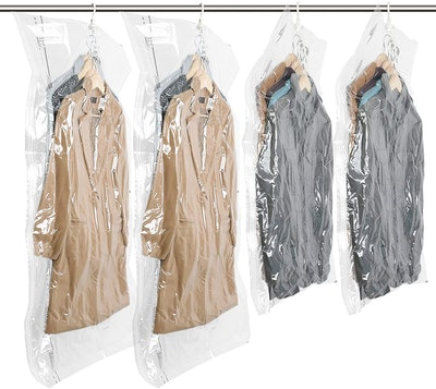 TAILI Hanging Vacuum Storage Bags (4-Pack)