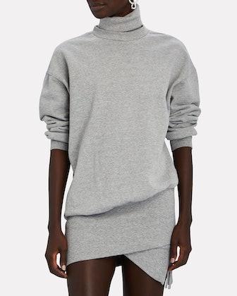 Desreen Turtleneck Sweatshirt Dress