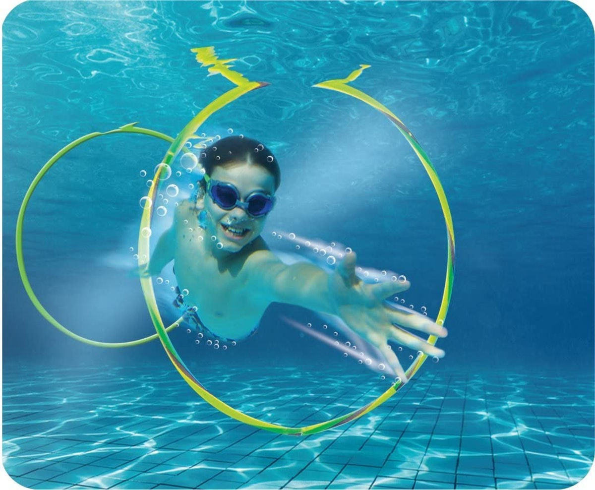 Prime Time Toys Swim Hoops (2-Pack)