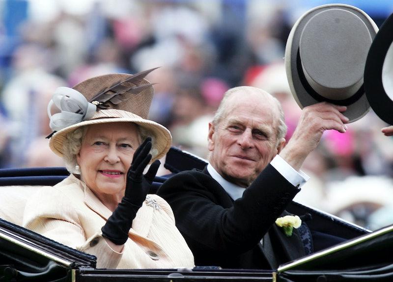 HM Queen Elizabeth II , The Queen, and husband Prince Philip, the Duke of Edinburgh