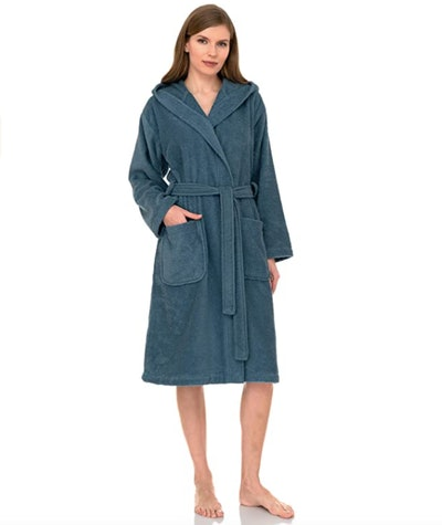 TowelSelections Terry Cloth Hooded Robe
