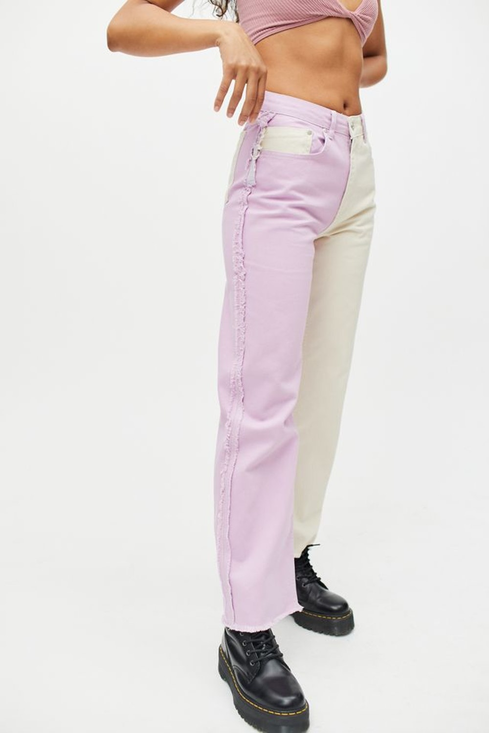 The Ragged Priest Two-Tone Wonder Jean