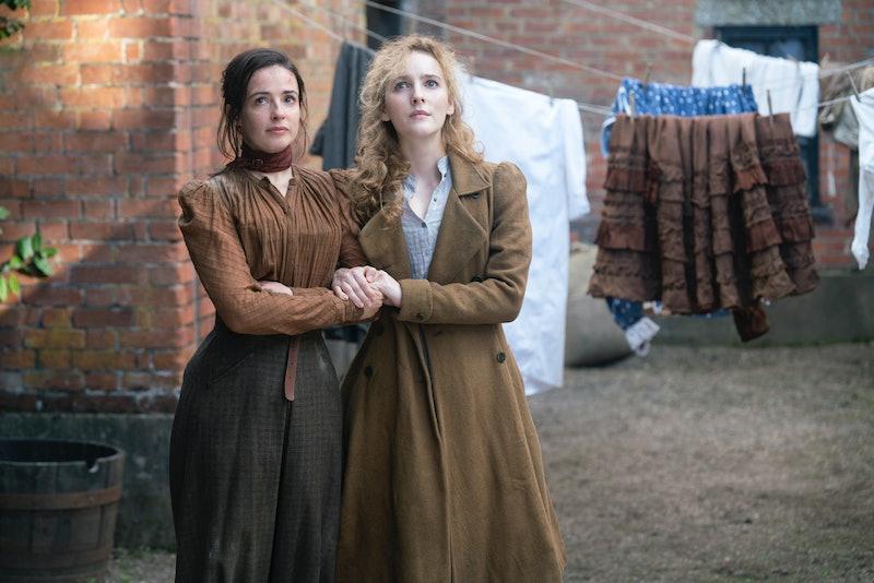 Amalia and Penance on The Nevers via the HBO press site