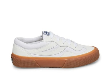 2941-Revolley in White Leather