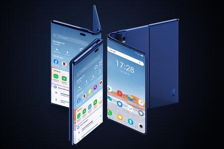 The TCL Fold 'n Roll concept in its many modes.
