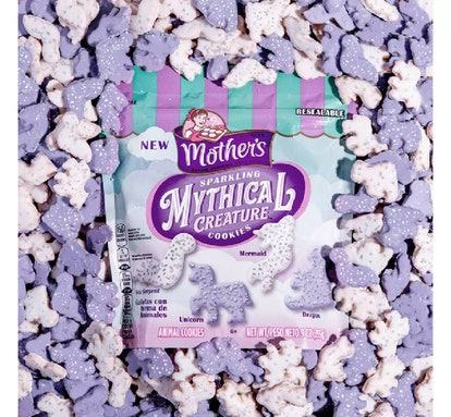 Mother's Sparkling Mythical Creature Cookies
