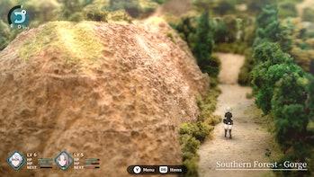 fantasian forest environment diorama exploration