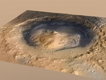 mount sharp on mars