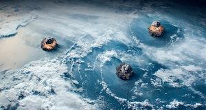 nuclear bombs explode on earth