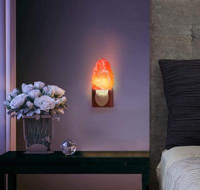 Spantik Himalayan Salt Lamp Night Lights (2-Pack)