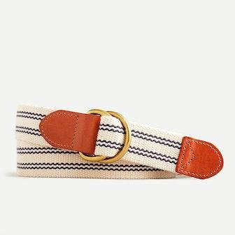 D-ring Cotton Belt