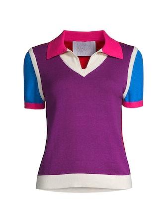 Colorblock Polo T-Shirt