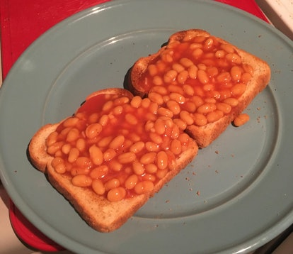 Making Tayce beans on toast from 'Drag Race UK' Season 2 required ordering beans from Britain.