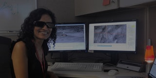 Since 2008, Verma has been driving rovers on Mars and operating the robotic arm which picks up interesting rocks and samples from the Martian surface for examination.