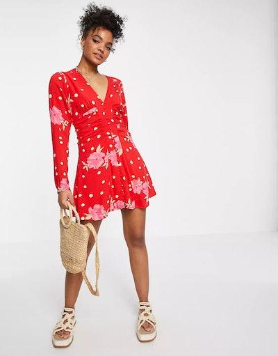 Free People Date Night Mini Dress