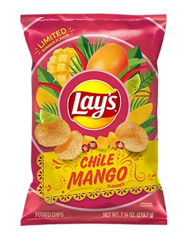 Lay's Potato Chips Chile Mango Flavored