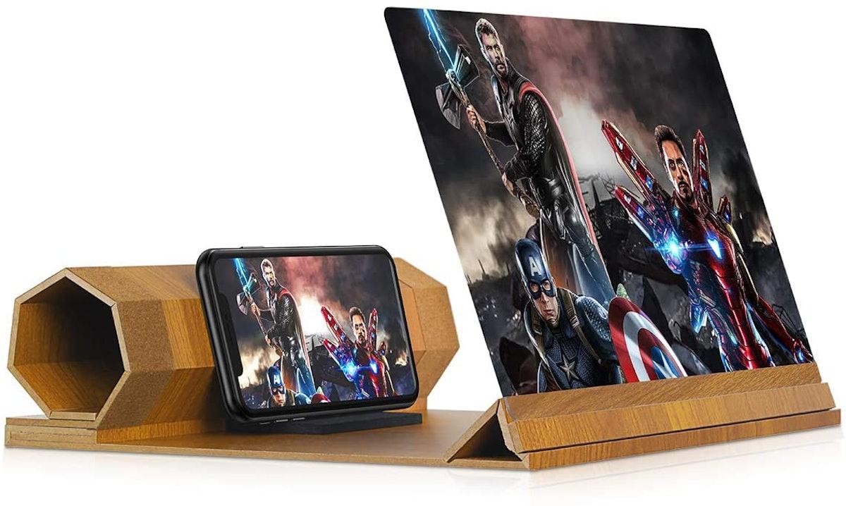 Dizaul Foldable 12'' Phone Screen Magnifier