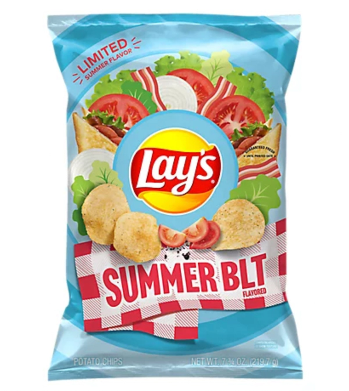 Lay's Potato Chips Summer BLT Flavored