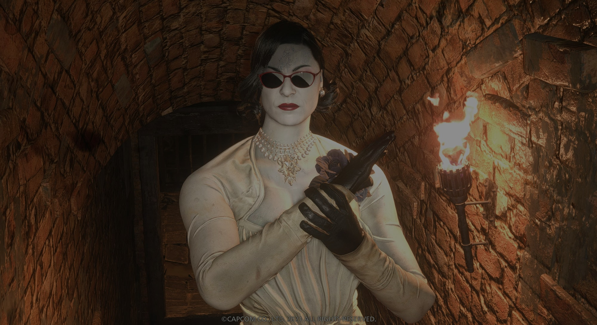 Lady Dimitrescu in Resident Evil Village. Games. Video games. Gaming. Modding. Modders.