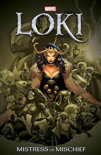 Lady Loki Marvel Comics fan theory new collection