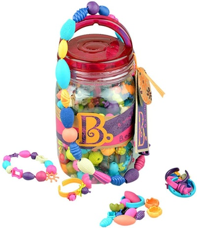 B. toys by Battat Pop Snap Bead Jewelry Set (275 Pieces)