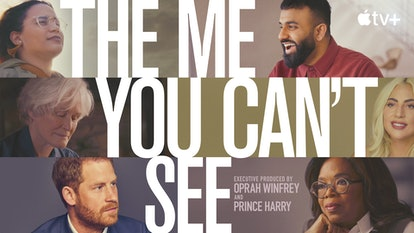 Prince Harry & Oprah Winfrey's 'The Me You Can't See.' Photo via Apple TV+