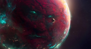 Ego the Living Planet in Guardians of the Galaxy Vol. 2