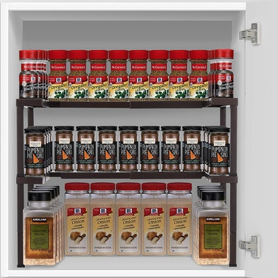 CAXXA Metal Expandable Spice Rack