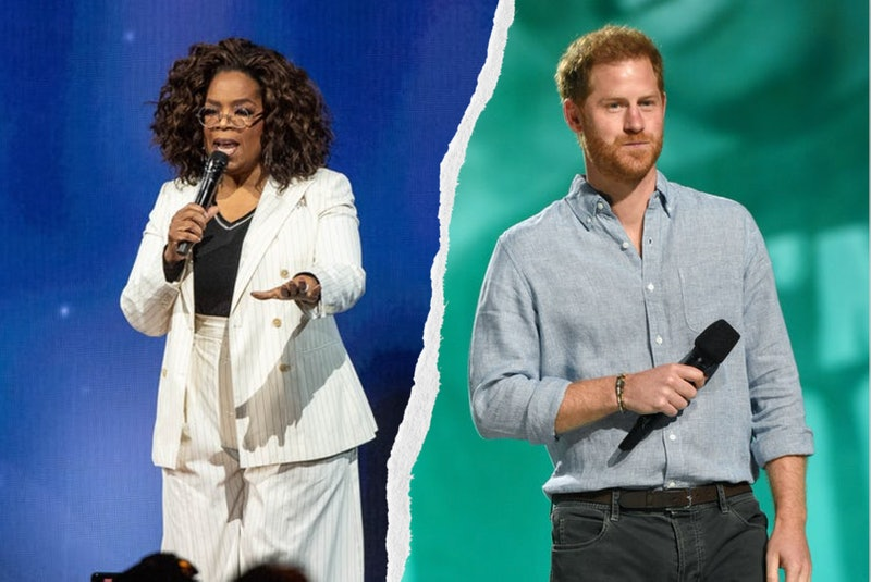 Oprah Winfrey & Prince Harry To Executive Produce New AppleTV+ Series 'The Me You Can't See.' Photos via Kevin Mazur/Getty Images Entertainment/Getty Images & Emma McIntyre/Getty Images Entertainment/Getty Images