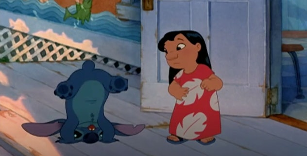 'Lilo & Stitch' is an animated Disney film from 2002.