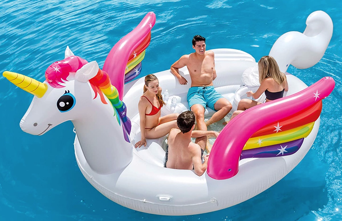 Intex Unicorn Party Island
