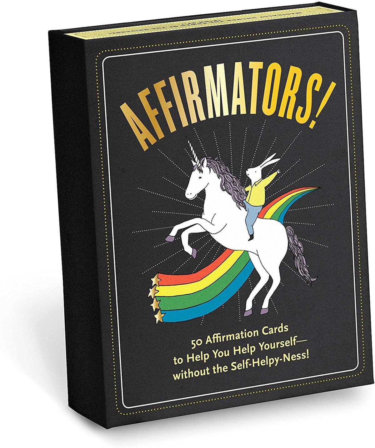 Affirmators! 50 Affirmation Cards Set