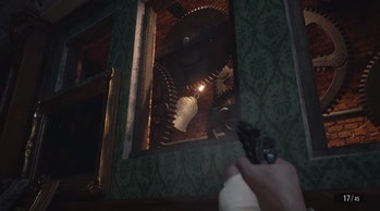 resident evil village bell puzzle hidden in wall