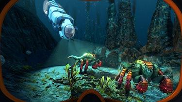subnautica below zero ocean depths crabs