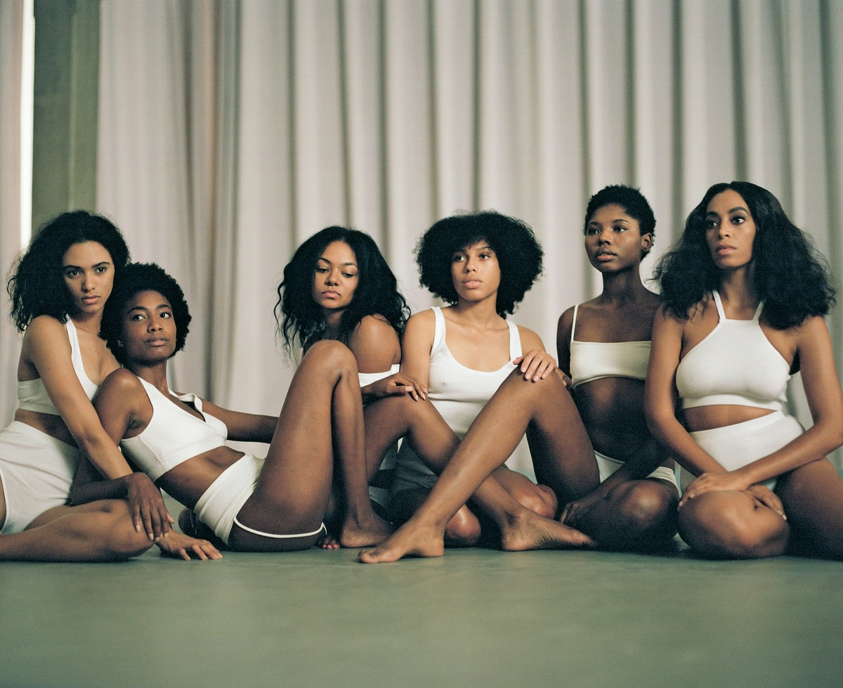 Filming of the music video 'Cranes in the Sky' for Solange's album A Seat at the Table