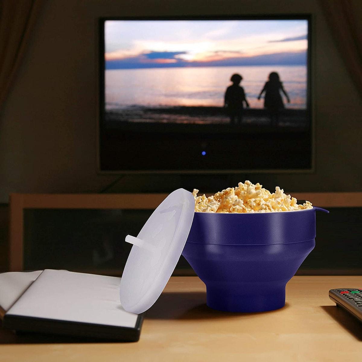 Original Microwaveable Silicone Popcorn Popper