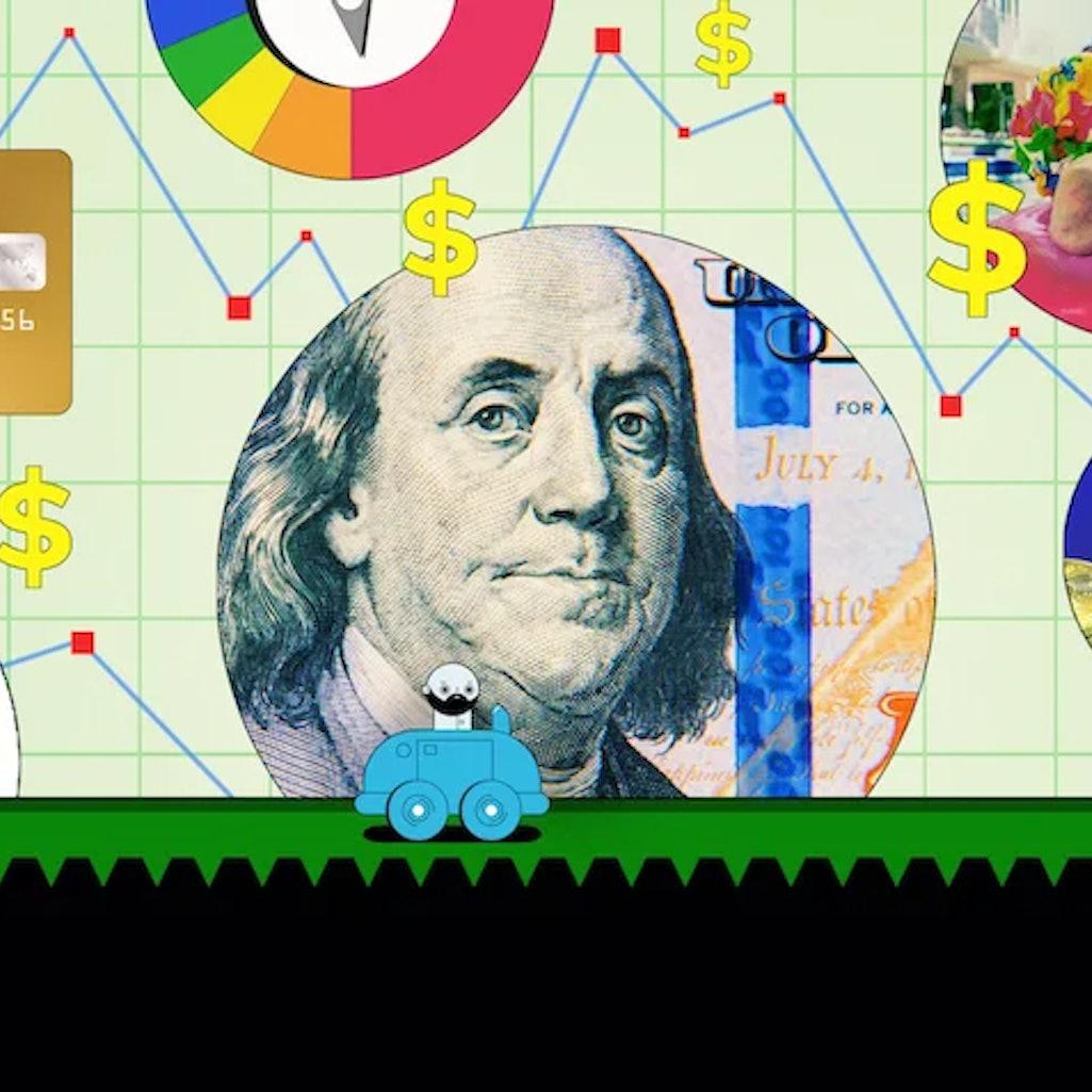 A promo image for Netflix's 'Money, Explained.'