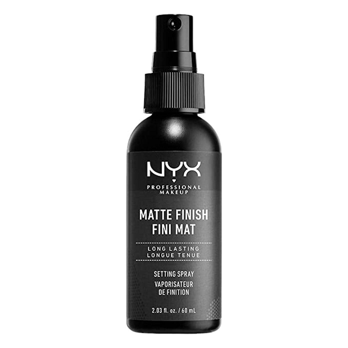 NYX Professional Makeup Matte Finish Makeup Setting Spray