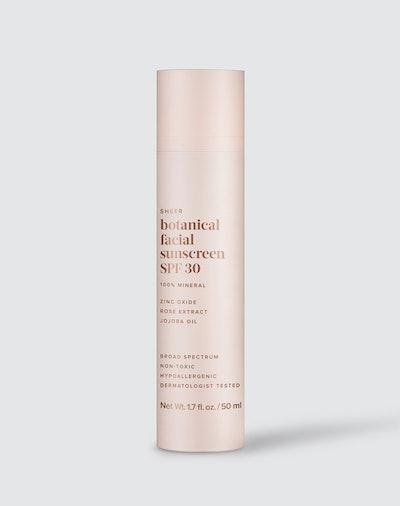 Sheer Botanical Facial Sunscreen SPF30