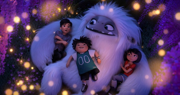 'Abominable' is an animated movie about a teenager who befriends a young yeti.