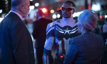 Anthony Mackie in The Falcon and the Winter Soldier Episode 6