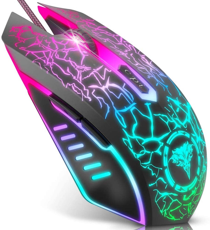 BENGOO RGB Backlit Gaming Mouse