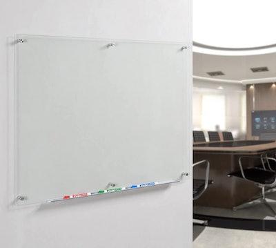 Audio-Visual Direct Glass Dry-Erase Board